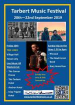 Tarbert Music Festival - just around the corner!