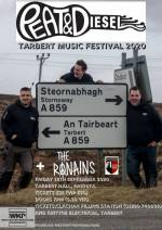 Peat and Diesel announced for Tarbert Music Festival 2020